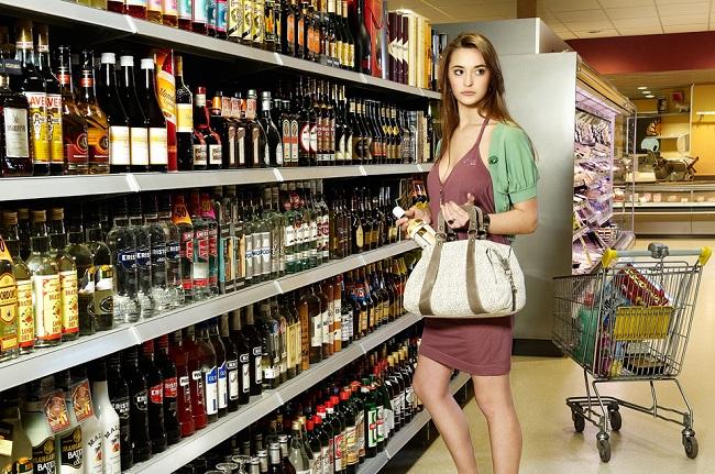 кража в магазинах